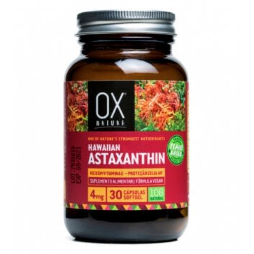 Astaxantina 30 cápsulas