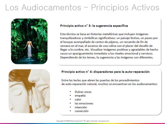 audiocamentos principios activos