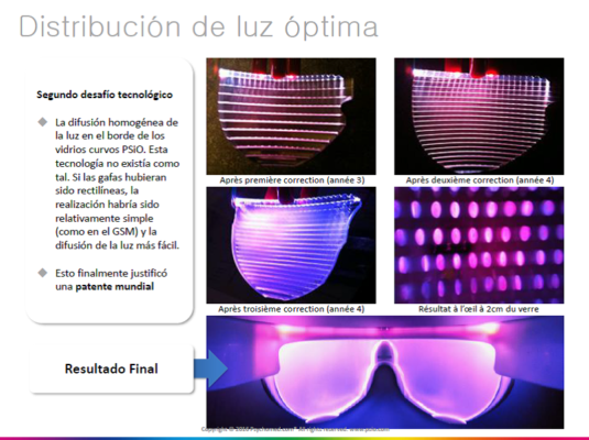 distribucion luz