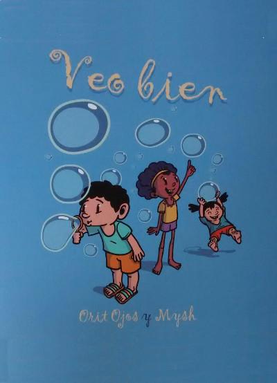 Libro infantil para mejorar la vista a través del juego